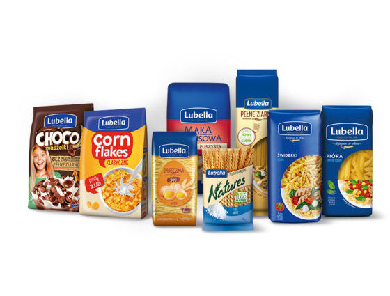 Pasta and cereal products